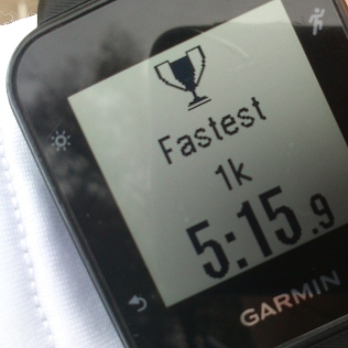20181107-Running-fastest-km