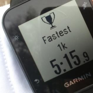 20181107-Running-fastest-km
